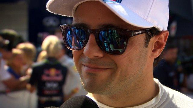 Williams driver Felipe Massa