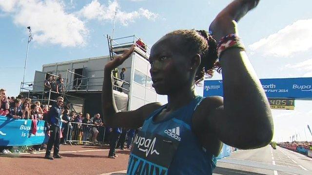 Mary Keitany breaks Paula Radcliffe's record