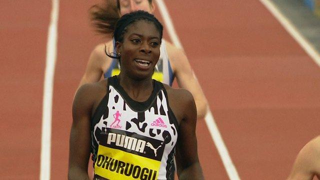 Christine Ohuruogo wins 500m at GreatCity Games