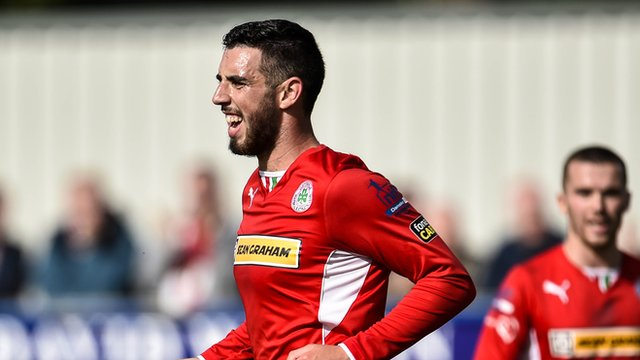 Cliftonville's Joe Gormley
