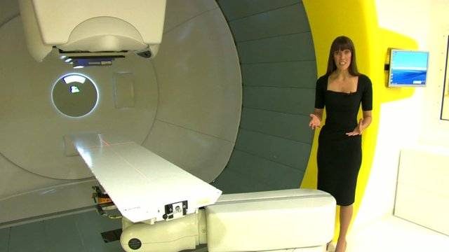 Jenny Hill at Proton Therapy Centre