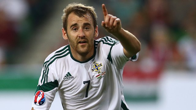 Niall McGinn's only previous international goal came against Portugal almost two years ago