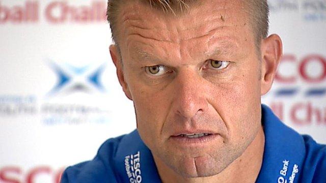 Interview - Former Rangers defender Arthur Newman