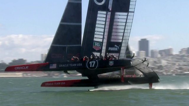 last year's America's Cup