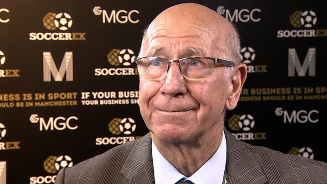 Manchester United director Sir Bobby Charlton