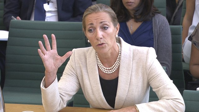 Rona Fairhead at the Culture, Media and Sport Committee hearing