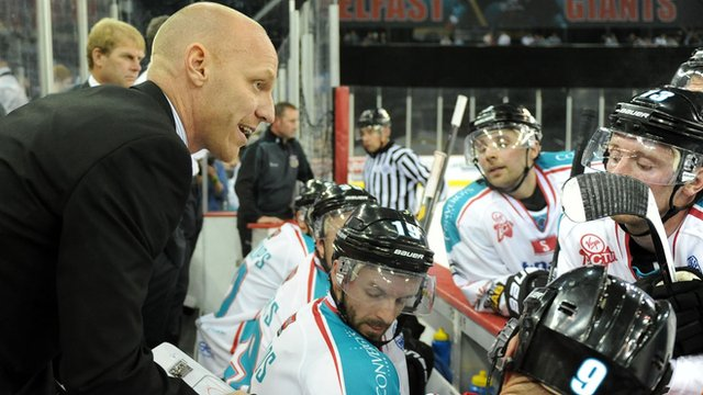 Belfast Giants Head of Hockey Operations Steve Thornton