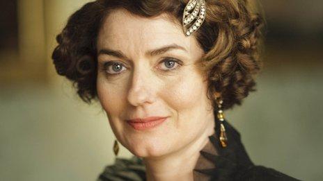 New cast member Anna Chancellor