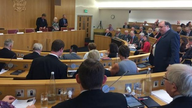 Rotherham Council Meeting