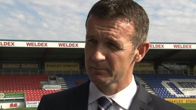 Interview - Ross County manager Jim McIntyre