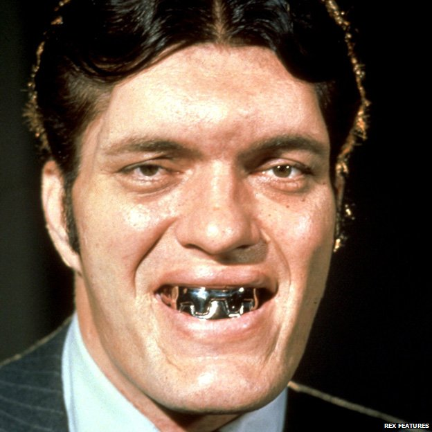 Richard Kiel, as Jaws in The Spy Who Loved Me
