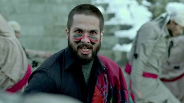 a scene from Haider