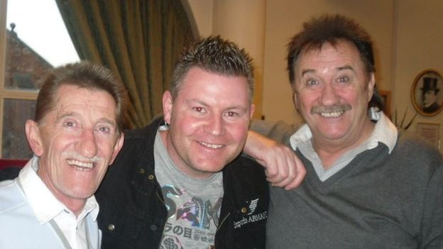 Shaun Hope with Barry and Paul Chuckle