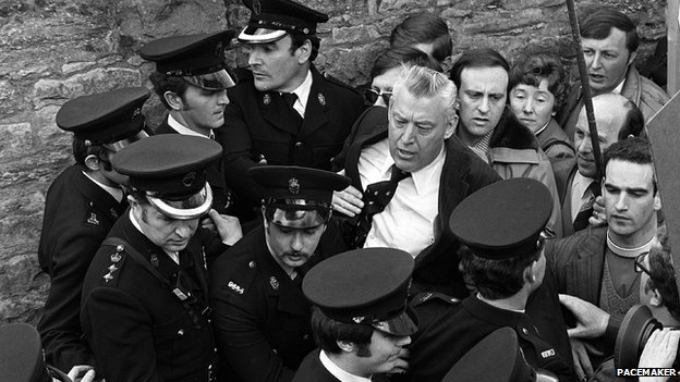 Ian Paisley arrested