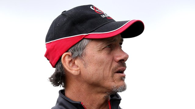 Les Kiss was appointed Ulster's interim director of rugby after Mark Anscombe's departure in late June