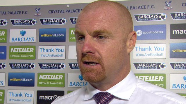 We are a work in progress - Sean Dyche