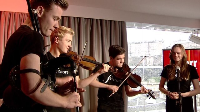 Fèis Rois on The Andrew Marr Show