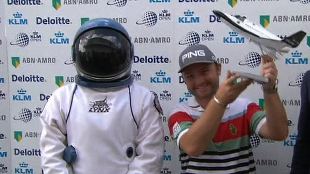 British golfer Andy Sullivan has won a trip to space after hitting a hole-in-one during the final round of the KLM Open in Zandvoort, Netherlands.
