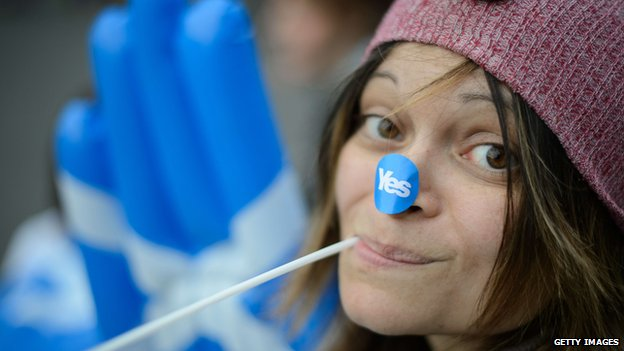 """A """"Yes"""" campaigner"""