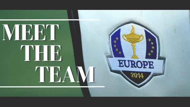 Ryder Cup team - Europe