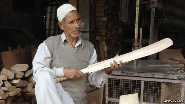 Indian cricket bat maker