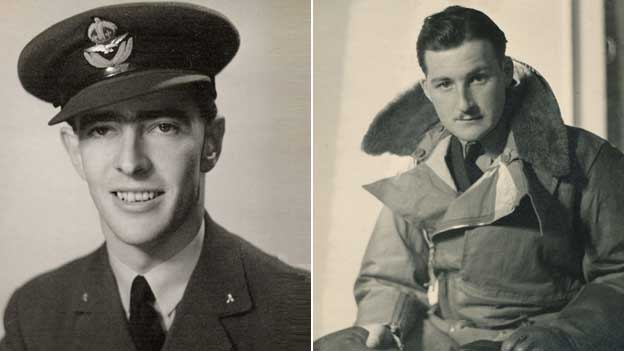 Flying Officer John Brewster and Pilot Officer Harold Williams