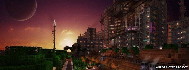 Aurora City Project