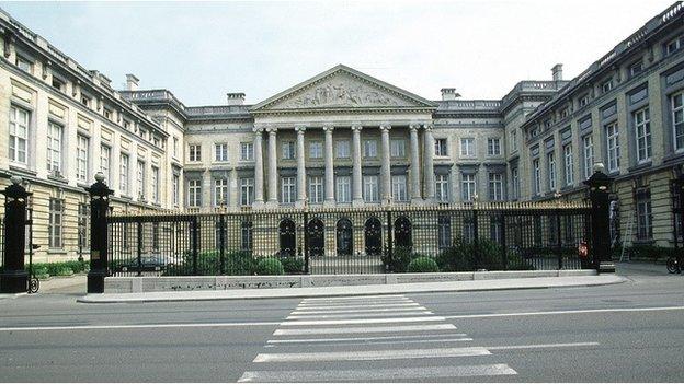 Belgium parliament