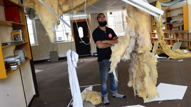Khalid Farid says the damage is 'massive'