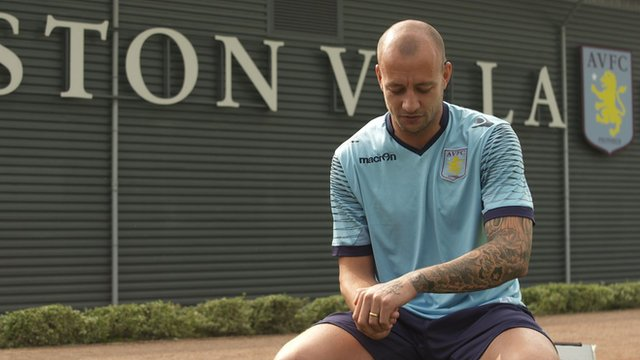 Aston Villa's Alan Hutton explains the meaning behind tattoos