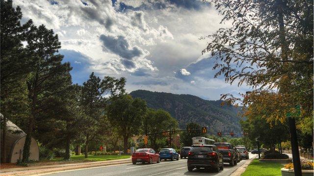 Street in Boulder, Colorado