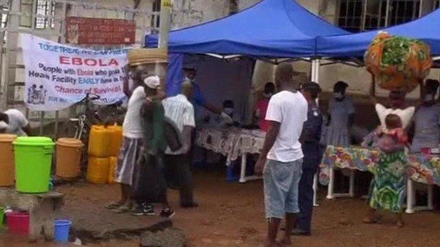 Market in Sierra Leone