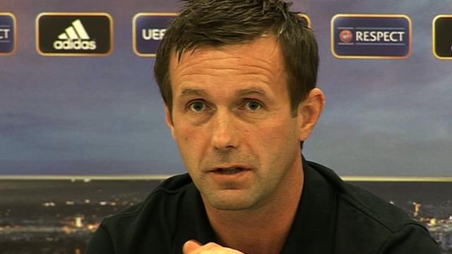 Celtic boss Ronny Deila