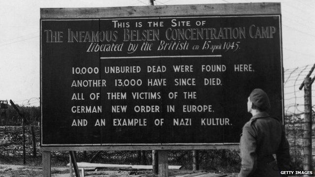 Bergen-Belsen after liberation
