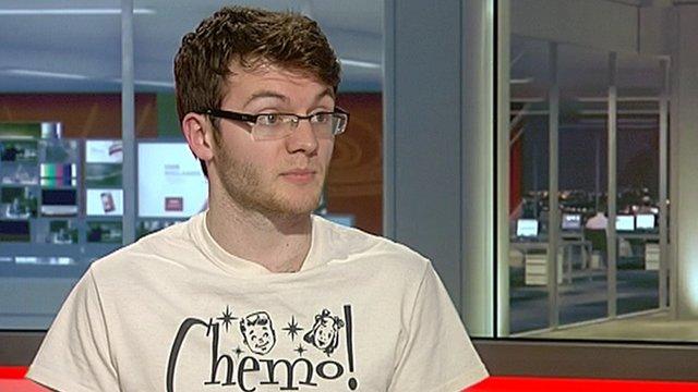 Stephen Sutton on Midlands Today