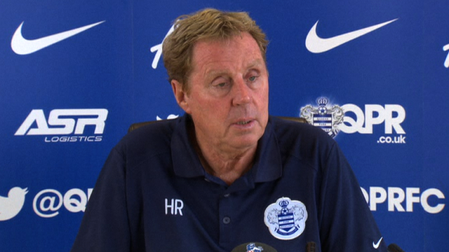 Queens Park Rangers manager Harry Redknapp.
