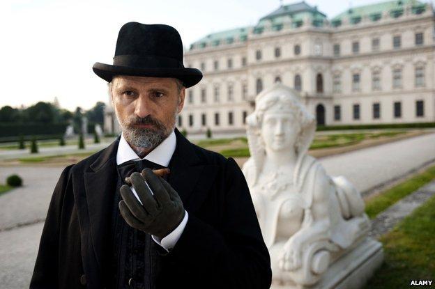 Viggo Mortensen as Sigmund Freud