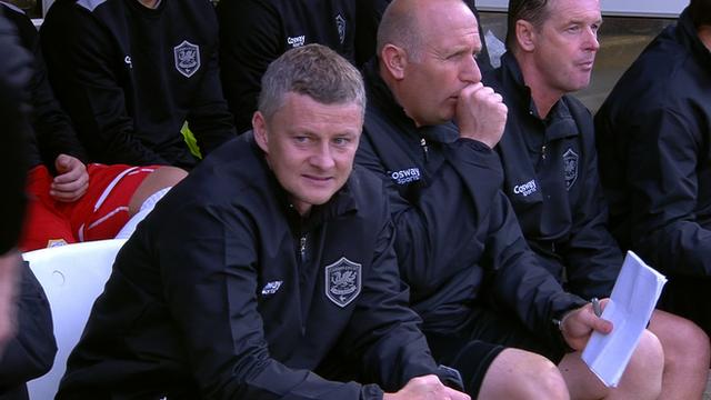 Former Cardiff City manager Ole Gunnar Solskjaer