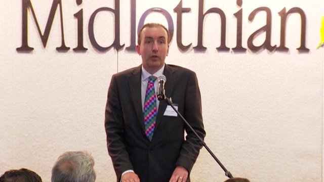 Midlothian declaring in the Scottish referendum