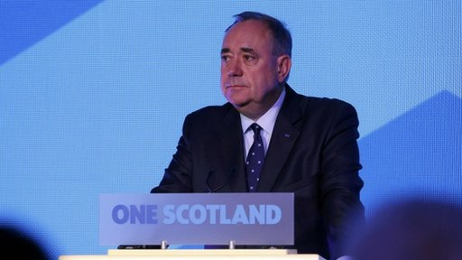 Alex Salmond First Minister of Scotland