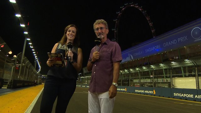 Lee McKenzie and Eddie Jordan