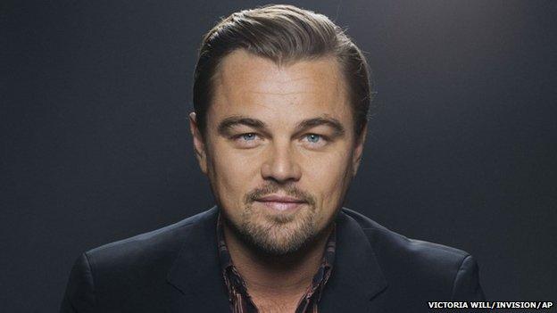 US actor Leonardo DiCaprio - file photo
