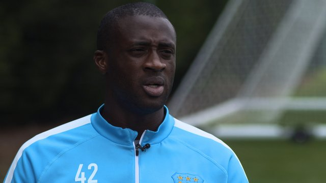 Yaya Toure targets Champions League win for Manchester City