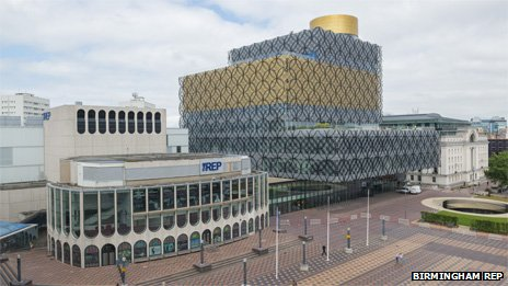Birmingham Rep and library