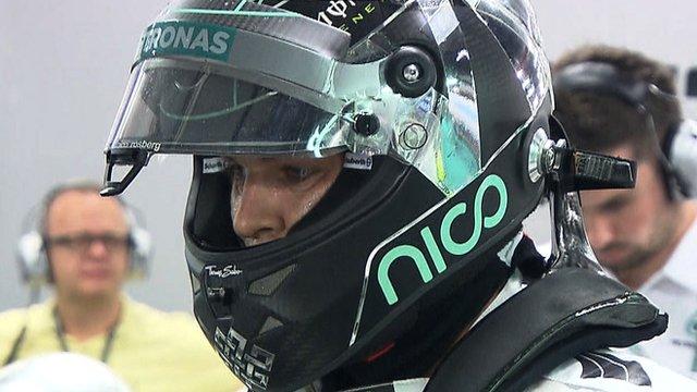 Mercedes Formula 1 driver Nico Rosberg