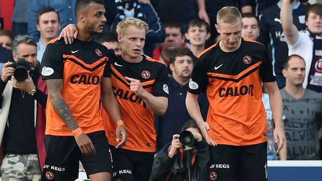 Highlights - Dundee 1-4 Dundee United