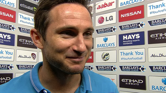Manchester City's Frank Lampard