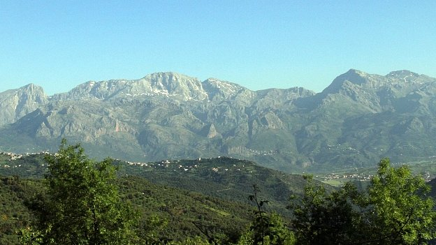 Mountains in Kabylie region of Algeria (file image)