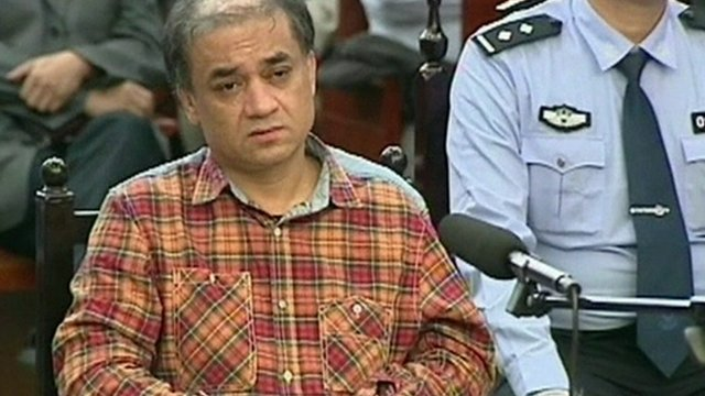 Ilham Tohti in court