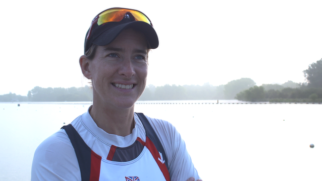 Katherine Grainger: Olympic champion returns after two years